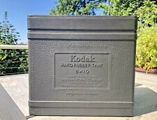 Kodak 8x10 Hard Rubber Tank for Large Format Film Darkroom Processing No Lid