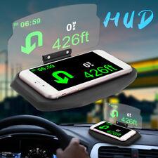 Universal Coche Soporte HUD Head Up Display Para Móvil Telefono Navegación GPS