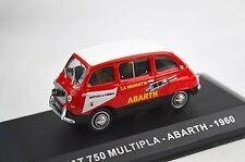 FIAT 750 600 MULTIPLA ABARTH SERVICE SERVIZIO 1960 BRUMM 1:43 MAGAH100 NEW