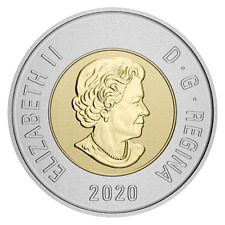 2020 Canada Bimetallic toonie coin Specimen finish coin only: from set -IN STOCK