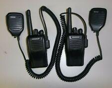 Kenwood TK-3360K UHF IS intrinsically safe portable radios complete (lot of 2)