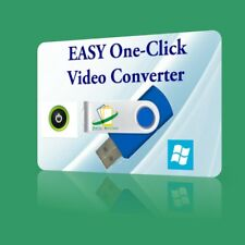 EASY One Click Video Converter - any format to MP4 MKV for Windows DVD Blu-ray