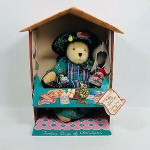 Muffy Vanderbear The Little Peddler Doll 1996 12 Days of Christmas NABCO Doll