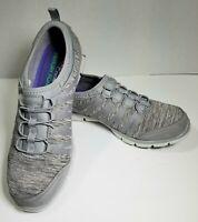Skechers Gratis - Shake It Off Slip-On Womens Size US 9 Sneakers SN22602, Gray