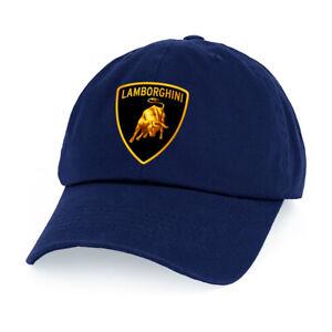 Low Profile Cap Lamborghini Super Car Logo Printed Baseball Hats Adjustable Sz#C