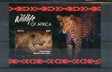 Liberia 2015 MNH Wildlife of Africa 1v S/S African Leopard