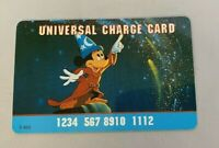 Mickey Mouse Universal Charge Card Fantasia Disney Play No Cash Value Novelty