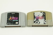 the Legend of Zelda Majora's Mask Ocarina of the Time N64 Nintendo 64 From Japan