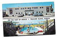 Old 1960's Cars Parked at Windjammer Apts Motel Treasure Island, Florida
