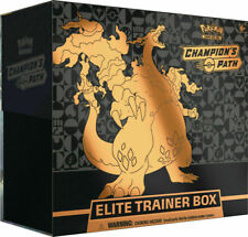 Pokemon Tcg Champion Path Elite Trainer Caja Preventa's (10 Booster Packs) 🔥 Nuevo
