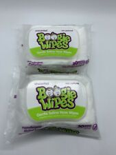 Lot of 2 Boogie Wipes Gentle Saline Nose Wipes 30 wipes ea