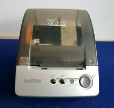 Brother QL-550 P-Touch Printer (Roll of Labels, Printing One Cable Lead Thermal)