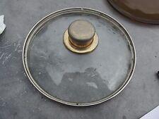 "Glass Pot Pan Lid Fits Round Pot 7 7/8"" Inside Diameter"