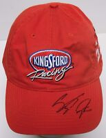 Vtg 2002 STACY COMPTON SIGNED KINGSFORD RACING NASCAR CAR #59 HAT WITH CASE COA