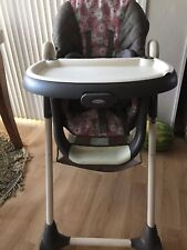 GRACO HIGH CHAIR 3 in 1 ( flowers pattern) LOCAL PICK-UP ONLY !!! Tracy,CA