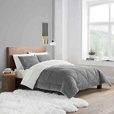 Ugg® Reversible 3-Piece Queen/Full Comforter Set in Seal Grey