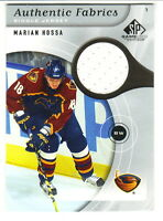 2005-06 SP Game Used Edition Authentic Fabrics Gme Used JERSEY MARIAN HOSSA