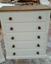 Country Handmade 5 Chests of Drawers