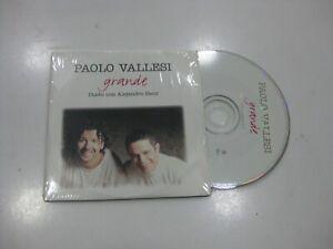 PAOLO VALLESI CD SINGLE GERMANY GRANDE 1997 PROMO CON ALEJANDRO SANZ