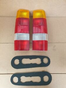 FORD SIERRA P100 PICK UP REAR LAMP SET NEW INC GASKETS