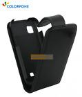 Etui Flip Rabattable CHIC CASE Noir pour BLACKBERRY Bold 9930
