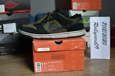 Nike SB Dunk Low loden size 11.5 US pre-owned