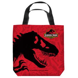"""Jurassic Park """"Dinosaur"""" 16 in x 16 in Tote Bag - New"""