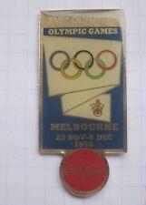 COCA-COLA / OLYMPISCHE SPIELE  MELBOURNE 1956  ... Sport Pin (151k)