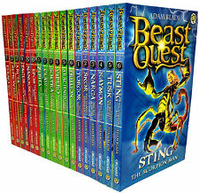 Beast Quest Collection Set Series 1-3 (18 Books) Adam Blade New RRP:£89.82