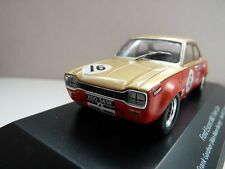 ESCORT MK1 TWIN CAM FORD TOURING CAR DIECAST MODEL 1/43 COLLECTORS ITEM