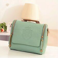 Women Leather Handbag Shoulder Lady Crossbody Bag Tote Messenger Satchel Purse