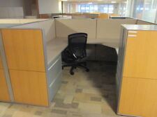 Used Office Cubicles, Haworth Compose Cubicles 7.5x7