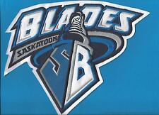 Saskatoon Blades WHL CHL Hockey CCM / Maska Iron On Boys Jersey Crest Patch D