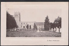 Suffolk Postcard - St Mary's Church, Mendlesham   A9780