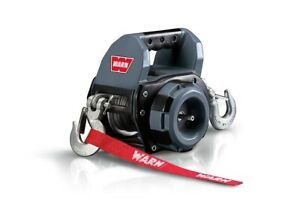 Warn drill winch - drill powered portable winch with wire cable [101570]