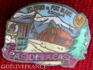 BG5181 - INSIGNE PAS DE LAS CASA TELEFERIQUE DE FORT BLANC 1.500m - ESPAGNE
