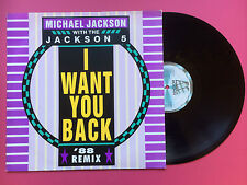 Michael Jackson with the Jackson 5 - I Want You Back '88 Remix, Motown ZT-41914