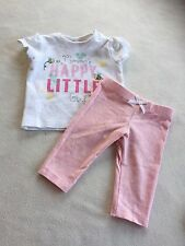 Baby Girls Clothes Newborn - Cute Outfit  - T Shirt Top & Leggings