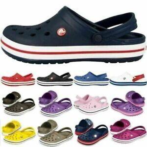 Herren Damen Sommer Crocband Clog  Schuhe Sandale Strand Badeschuhe atmungsaktiv