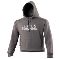 EVOLUTION WEREWOLF HOODIE hoody scary halloween joke funny birthday gift 123t