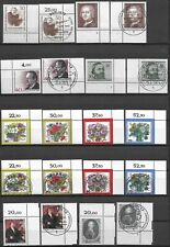 "GERMANY (BERLIN) -  MNH/MNH (FDC) ""Complete Corner Set"" Stamps Collection (2)"