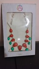 Amrita Singh  Cabochon Bead  Necklace Turquoise/Coral
