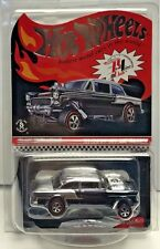 Hot Wheels 2016 Red Line Club RLC Car - Black '55 Chevy Bel Air Gasser #'d/3000