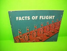 Facts Of Flight 1955 Vintage Soft Cover Book Manual By Department Of Commerce