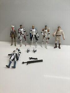5 Star Wars Figures & Accessories Job Lot Bundle