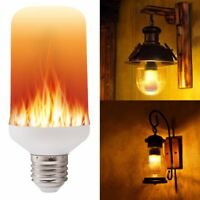 E27 E26 2835 LED Flamme Effet Feu Lumière Ampoules Créative Lumières Clignotante