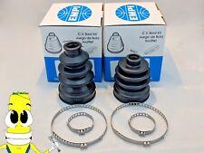 EMPI Front Inner & Outer CV Axle Boot Kit for Yamaha Kodiak 400 1993-2006 w/ 4x4