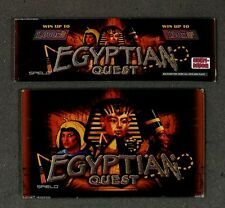 Spielo Aura Slot Machine Set of Glass for EGYPTIAN QUEST