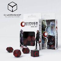 Q-WORKSHOP - CYBER SYSTEM - RPG WÜRFEL SET -  NEU/OVP