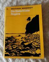 1973 / Brockhaus-Wanderheft / Bäderküste Rügen /Nr.79 68 Seiten VEB Brockhaus